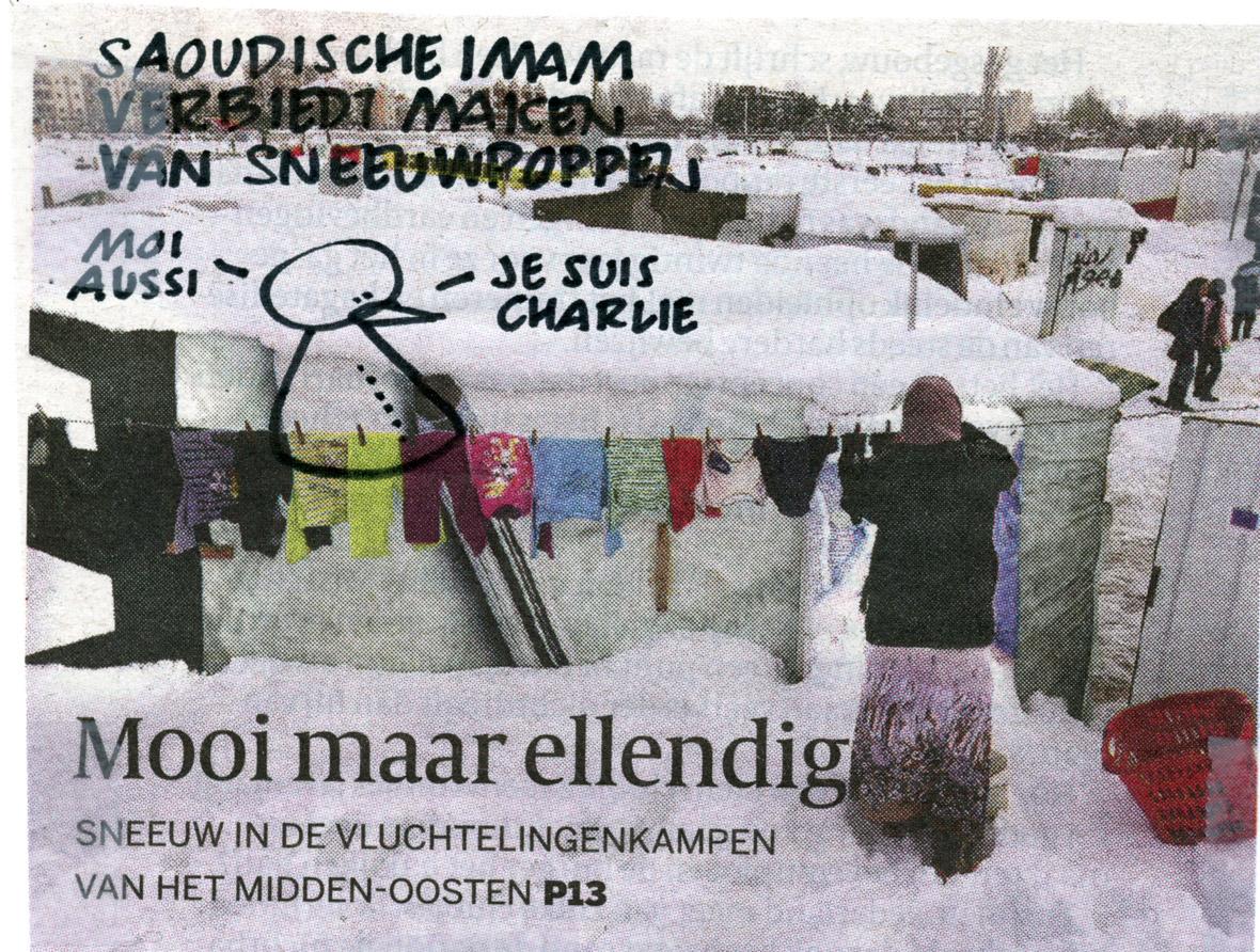 imam-en-sneeuw