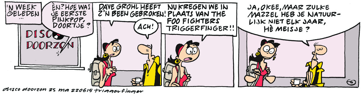 top 40 strip ma 22 juni triggerfinger-blog