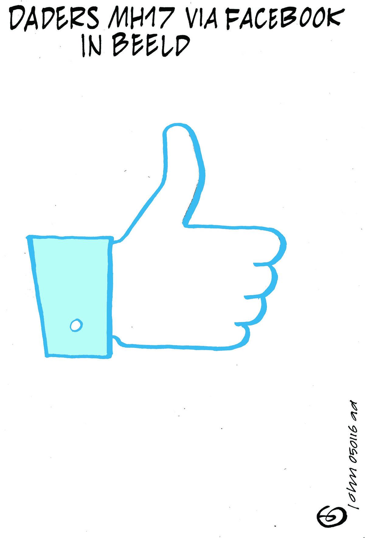 MH 17 en facebook